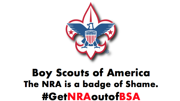 Petition · Tell Boy Scouts of America to Get the NRA out of