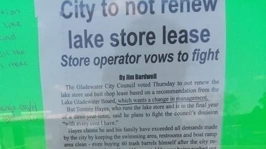 Petition update · MADE THE GLADEWATER PAPER · Change org