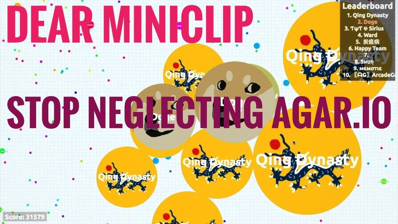 Petition · Miniclip SA: Stop Neglecting Agar io! · Change org