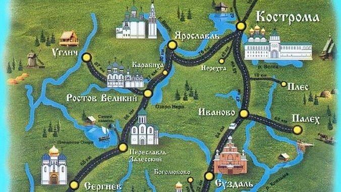 Экскурсия золотое кольцо россии из москвы