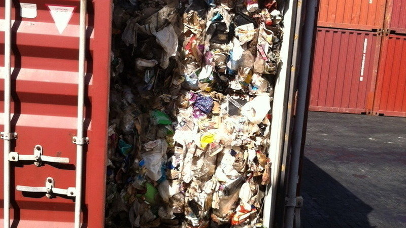 Re Export The 98 Container Vans Filled With Mixed Waste And Trash From Philippines To Canada
