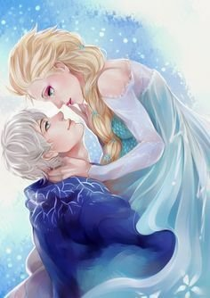 Elsa und jack frost