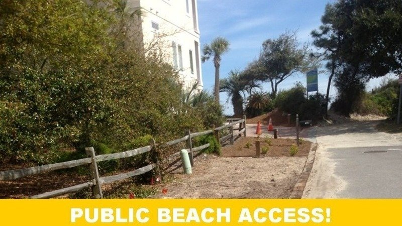 Public Beach Access St Simons Island Georgia
