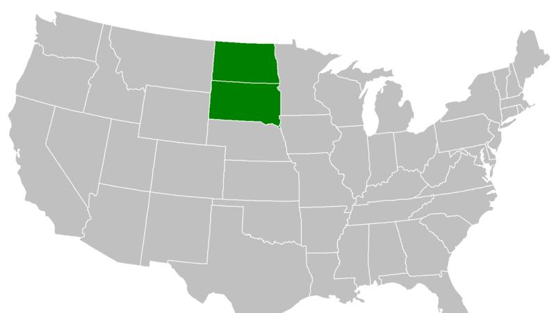 merge south and north dakota into megakota