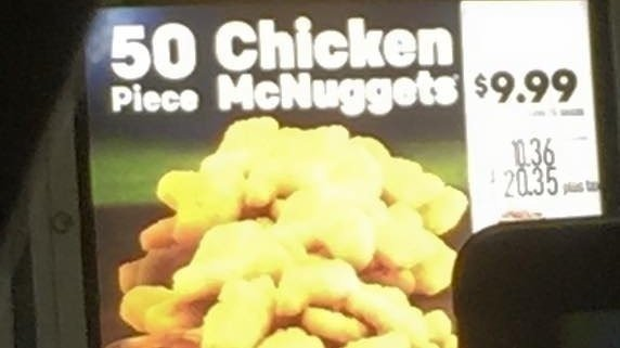 mcdonalds 50 piece nugget deal